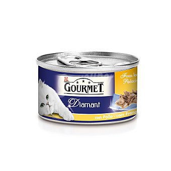 Gourmet Diamant Finas Lonchas de Carnes Asadas con Pollo 85 g