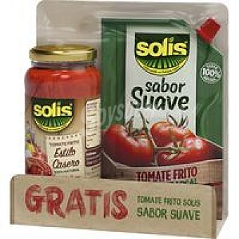 Solís Tomate frito casero-Doypack tomate frito pack 1 unid