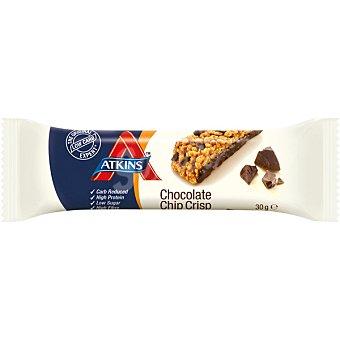 Atkins advantage Barrita snacks de chocolate con migas crujiente Envase 37 g