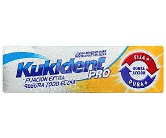 Kukident Crema adhesiva para prótesis dentaria, doble acción 40 Gramos