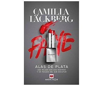 Maeva Alas de plata, camilla läckberg. Género: novela negra. Editorial Maeva.