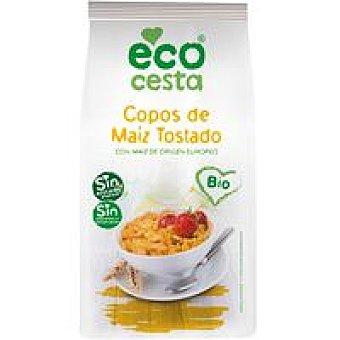 Ecocesta Copos de maíz tostado bio bolsa 400 g
