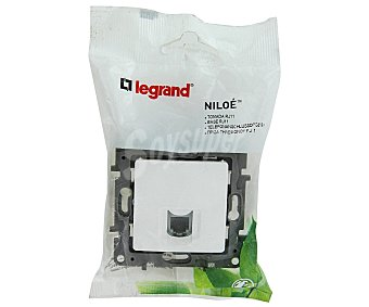 LEGRAND Base RJ11 Niloe, blanco 1 Unidad