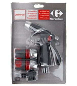 Carrefour Kit 5 piezas pistola regulable