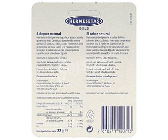 HERMESETAS Edulcorante en comprimidos (ideal para café, té y bebidas calientes) 300 unidades