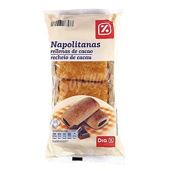 DIA Napolitana rellena de chocolate paquete 320 gr Paquete 320 gr