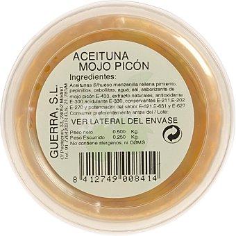 GUERRA Aceitunas mojo picón  envase de 250 g