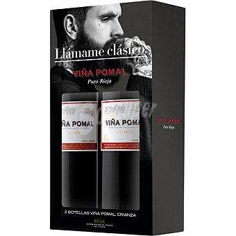 Viña Pomal Vino tinto crianza D.O. Rioja Pack Ahorro Estuche 2 botellas 75 cl