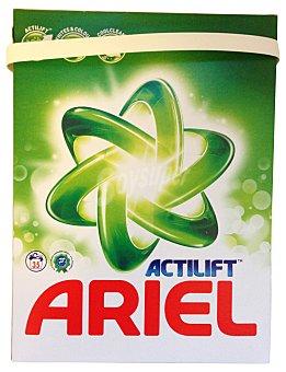 Ariel Detergente lavadora polvo ropa blanca actilift Paquete 2275 g