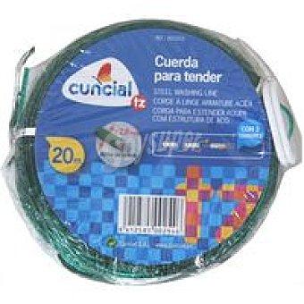 CUNCIAL Cuerda para tendedero Alma acero Pack 20
