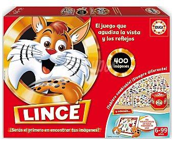 Educa Juego de mesa infantil de agudeza visual Lince, desde 1 jugador borrás