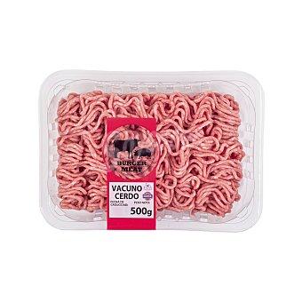 Embutidos Martínez Carne picada mixta vacuno/cerdo burger meat fresco Bandeja 500 g
