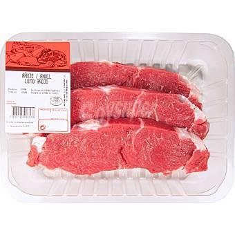 Gourmet Añojo lomo en filetes peso aproximado bandeja 500 g 2-3 unidades