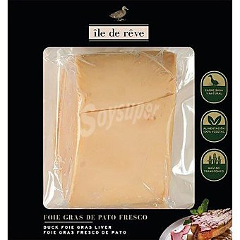 Ile de reve Foie de pato 3 trozos envase 200 g peso aproximado Envase 200 g