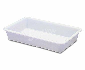 ARAVEN Cubeta de plástico de blanco, nº 13, 34x23,5 centímetros, 3 litros de capacidad 1 Unidad