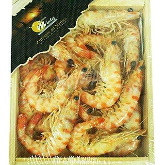 MARISCOS MENDEZ Langostinos Cocidos tigre Caja 500 g