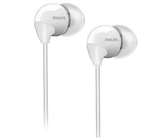 Philips Auriculares tipo Intrauricular SHE3595WT/00 Blanco, con cable y micrófono Blanco, con cable y micrófono