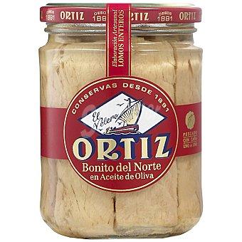 Ortiz El Velero Bonito del norte en aceite de oliva en lomos Tarro 280 g neto escurrido