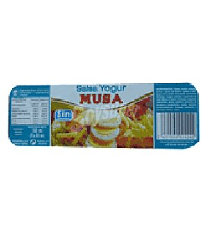 Musa Salsa de yogur Pack de 3x60 ml