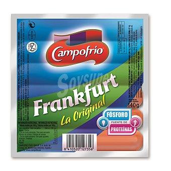 Campofrío Salchicha Frankfurt Sobre 140 g