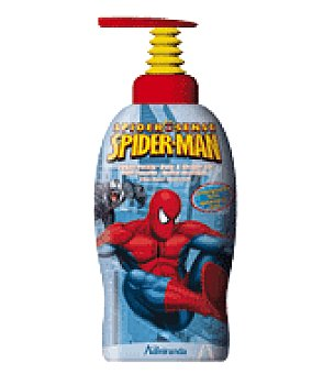 Spiderman Gel de baño spiderman 1 l
