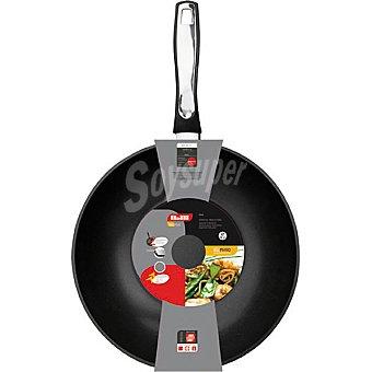 IBILI Induplus wok de aluminio para induccion 28 cm