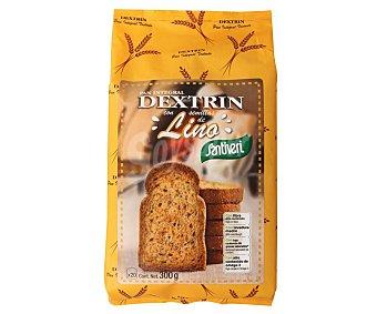 Santiveri Pan tostado integral con semillas de lino Dextrin 300 gr
