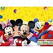 Mantel individual plegado 120x180 cm 1 unidad Mickey Disney