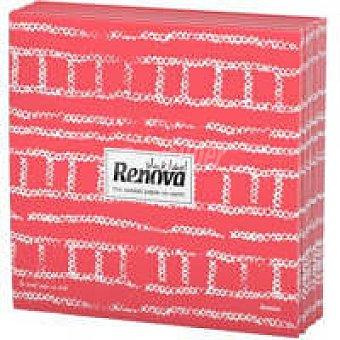 Renova Servilletas fabric roja Paquete 20 unid