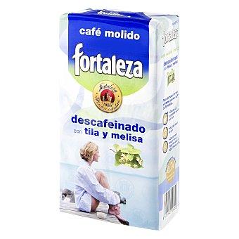 Fortaleza Café Descafeinado Molido con Tila y Melisa 250 g