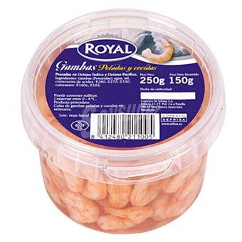 Royal Pescados Gambas peladas cocidas envase 250 gr