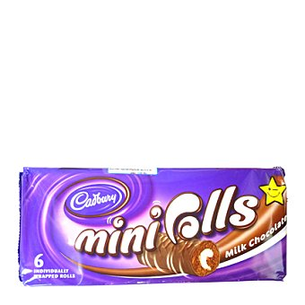 Cadbury Mini rolls chocolate 245 GRS