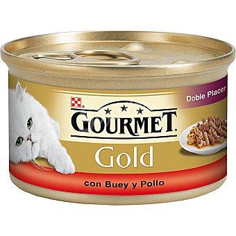 Gourmet Purina Alimento Buey-pollo Gold Lata 85 g