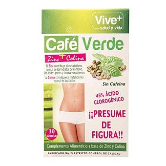 Viveplus Café verde 30 ud