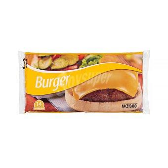 Hacendado Queso lonchas fundir hamburguesa Paquete 300 g (14 u)