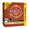 Café intenso 20 cápsulas Caja 104 gr Marcilla