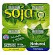 Postre soja natural azucarado Pack 4 x 125 g - 500 g Hacendado