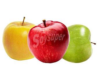 FRUTA Surtido de manzanas Bandeja 850 Gramos