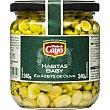 Habitas baby en aceite de oliva Frasco 345 g Viuda de Cayo