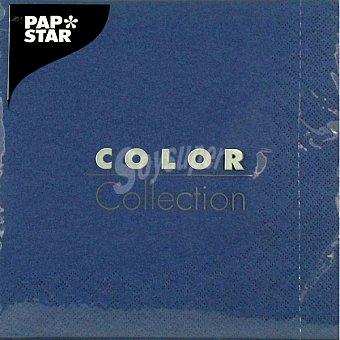 Papstar Servilletas color azul 33x33 Paquete 20 unidades