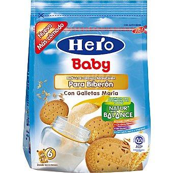 Hero Baby Papilla de cereales intantánea para biberón con galletas María Envase 150 g