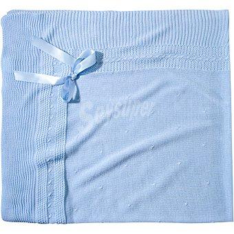 DOMBI Lolin toquilla para bebé en color azul