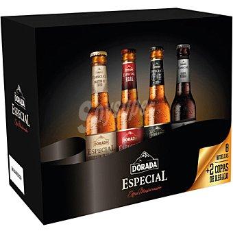 Dorada Pack Especial cervezas extra maduración + Copa 8 botellas 33 cl