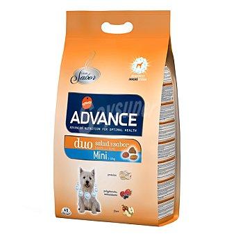 Advance Affinity Alimento de alta gama para perro adulto de raza mini con frutas y pollo con arroz Duo+effect Bolsa 3 kg