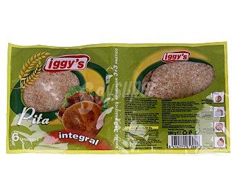 IGGY'S Pan de pita integral 6 unidades (300 gramos)