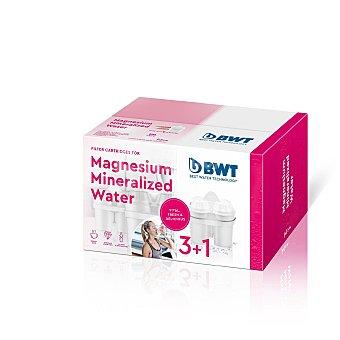 Bwt Filtros de agua con Microparticulas - Blanco 4 ud