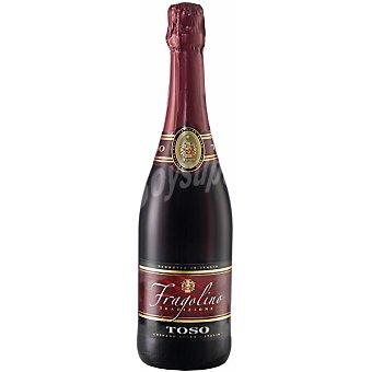FRAGOLINO Rosso Spumante Toso Vino tinto Italia Botella 75 cl