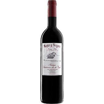 ROJO Y NEGRO Vino tinto crianza D.O. Alicante Botella 75 cl