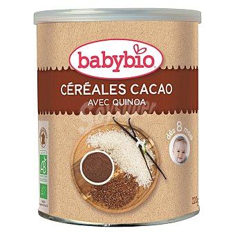 BabyBio Papilla con cacao y quinoa 220 g