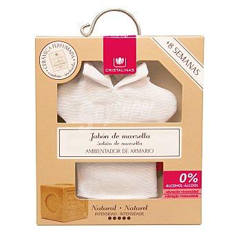 Cristalinas Ambientador armario jabón de marsella 1 ud